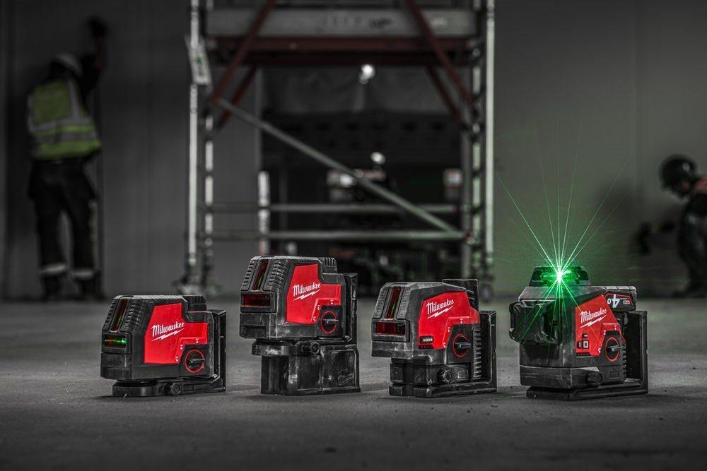 MILWAUKEE® uvádí na trh ucelenou řadu nových laserových řešení