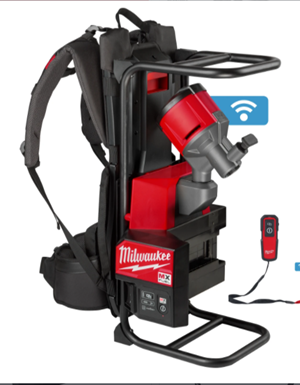 NEW MX FUEL™ Backpack Concrete Vibrator Delivers Consistent Starts and the Most Reliable Pours