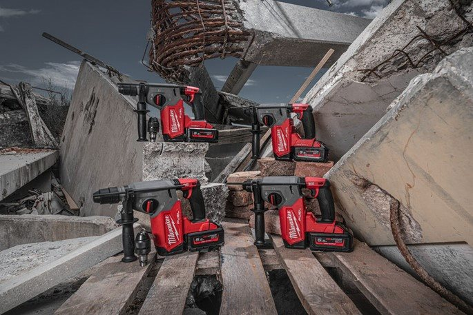 MILWAUKEE® Advances Rotary Hammer Solutions with the Second Generation M18 FUEL™ 4-Mode 26 mm SDS-Pl