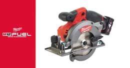 La Scie Circulaire Compacte 44 mm Milwaukee® M12 FUEL™