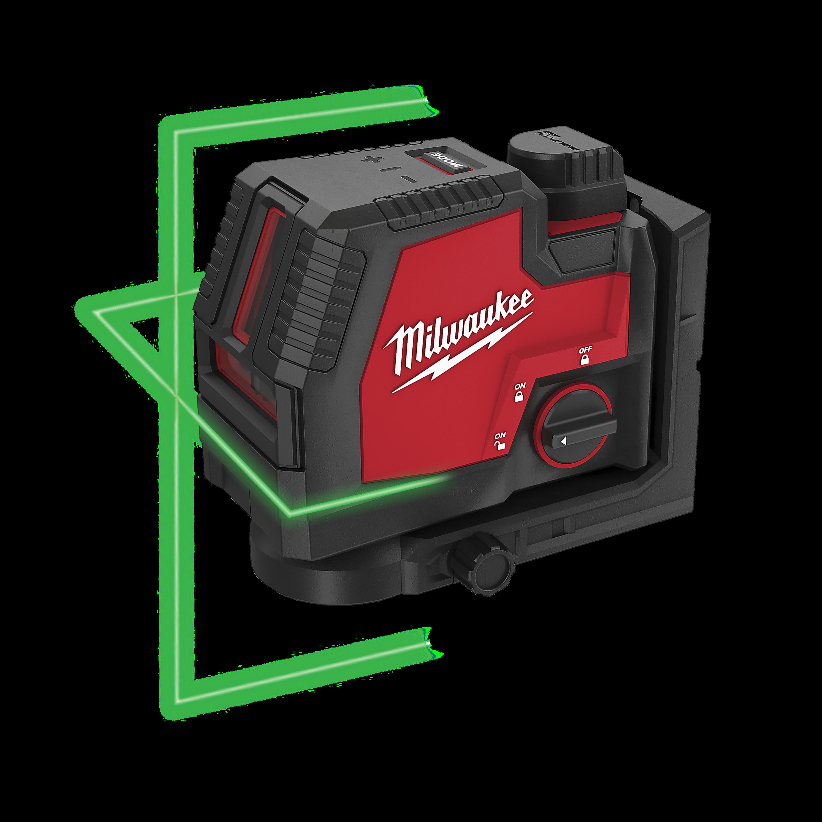 USB rechargeable green cross line laser