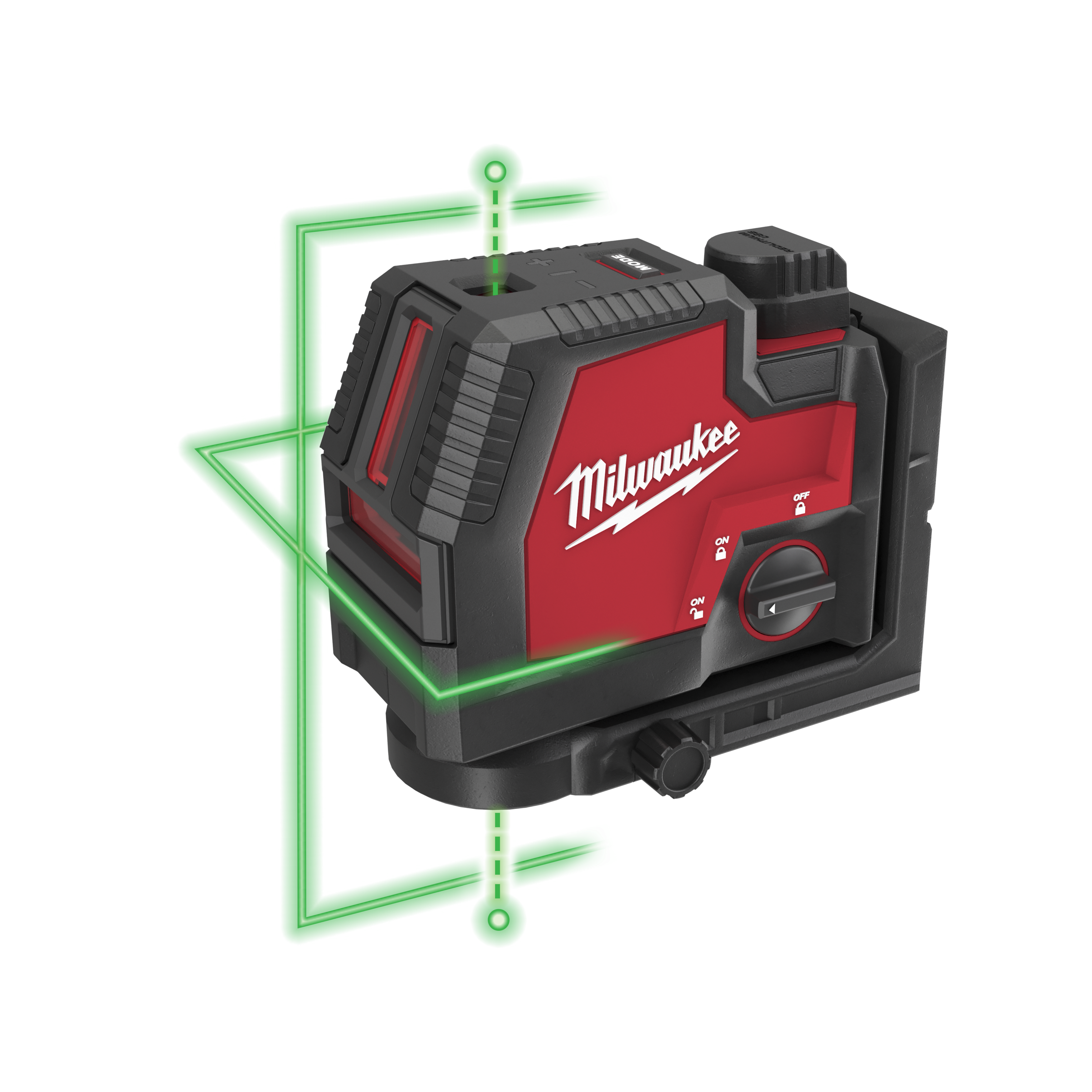 USB rechargeable green cross line laser with plumb points