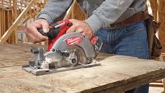 Milwaukee® M18 FUEL™ Circular Saw- Fastest Cutting on the Market