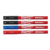 Inkzall Fine Tip Colour Pens - 4 pcs