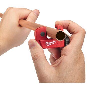 Mini copper tubing cutter