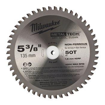 Circular saw blades for metal