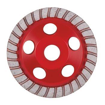 Combi-segment diamond cup wheels