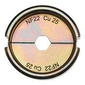 NF22 Cu 25 - 1 pc
