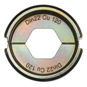 DIN22 Cu 120 - 1 pc
