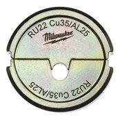 RU22 Cu35/AL25 - 1 pc