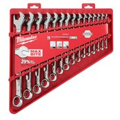 15 pc Maxbite Ratchet Imperial Combination Spanner Set - 1 pc