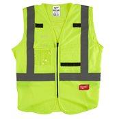 High-Visibility Vest Yellow - 2XL/3XL