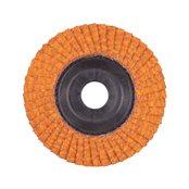 Flap discs CERA TURBO 115 mm / Grit 40