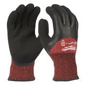 Bulk Winter Cut Level 3 Dipped Gloves - M/8