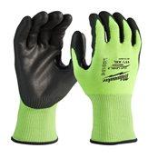 Bulk Hi-Vis Cut Level 3 Gloves - 11/XXL