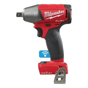 ONE-KEY™ FUEL™ compact ½″ impact wrench with pin detent